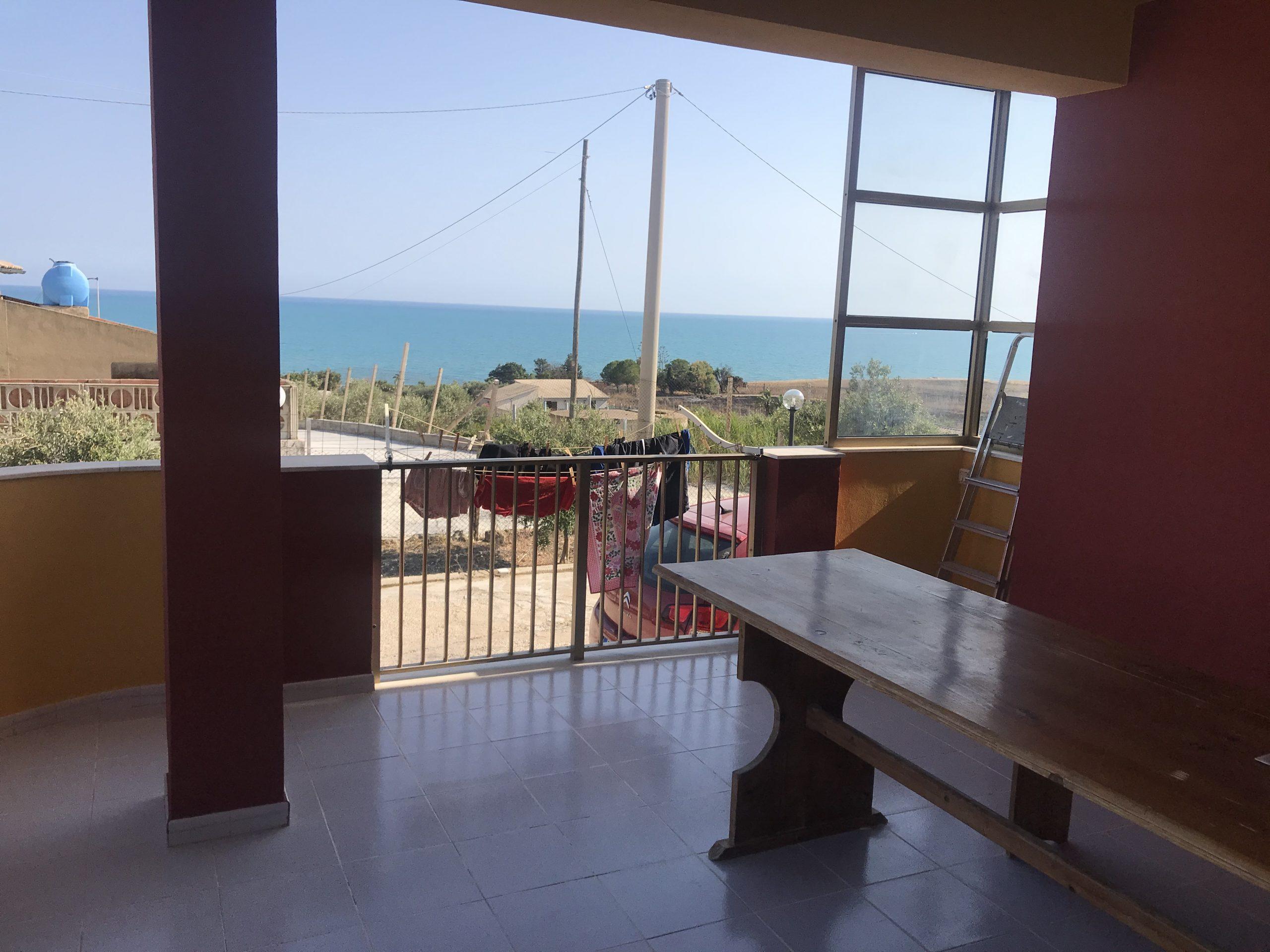 villetta vicino al mare e vista mare in contrada Canticaglione