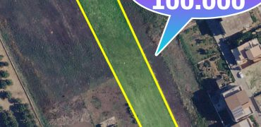 Terreno edificabile strada principale Viale caduti in guerra Lotto largo 20 m e lungo quasi 200 m.per maggiori informazioni contattateci allo 09 22 77 15 31.